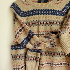 J. CREW | 100% Lambswool Sweater
